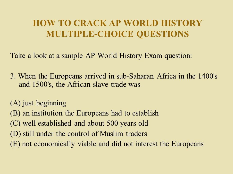 AP United States History – Students – AP Courses – The