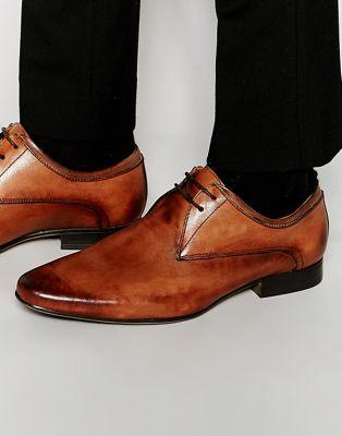 Туфли мужские коричневые кожаные