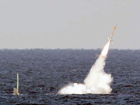 Опубликовано видео массированного удара крылатыми ракетами поИГ