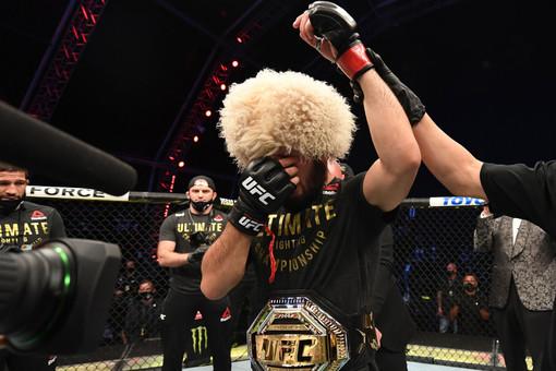 Хабиб анонсировал встречу сглавой UFC