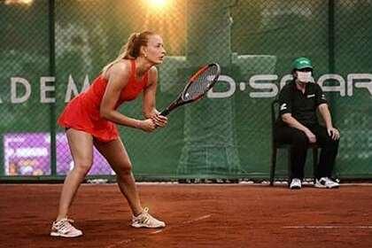 Российскую теннисистку заподозрили вдоговорном матче на«Ролан Гаррос»
