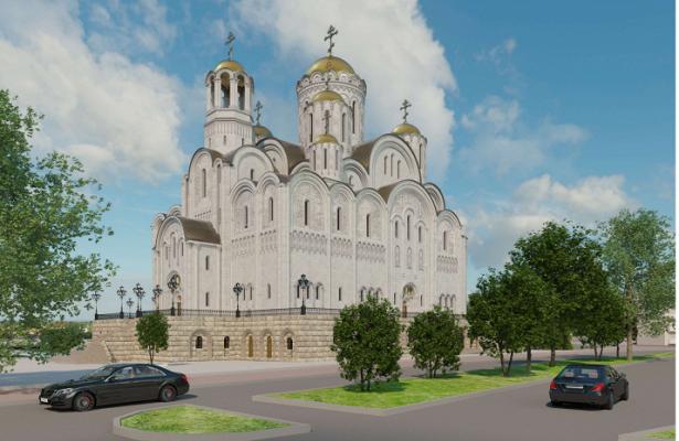 СВИП-комнатой длявладыки исобственной котельной: каким будет собор святой Екатерины уДрамтеатра