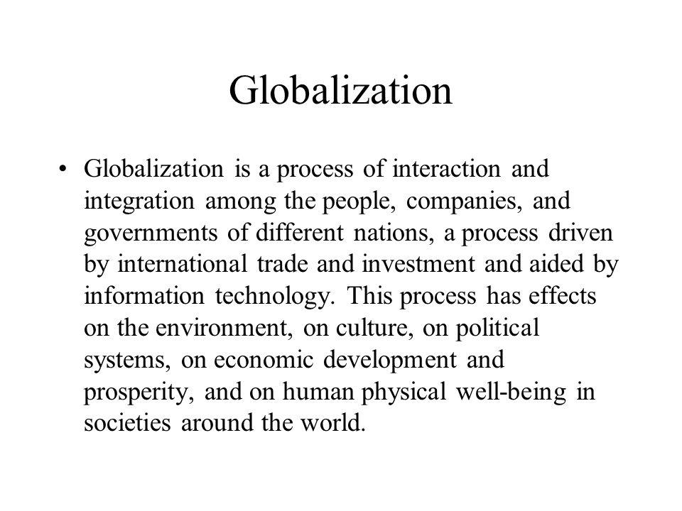 FREE Globalization Essay - exampleessayscom