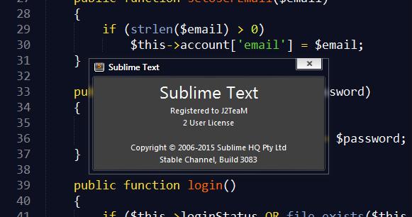 sublime text 2 license key ubuntu
