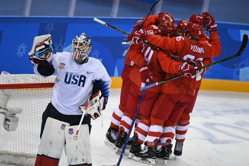Вратарь сборной СШАназвал россиян хоккеистами высокого уровня