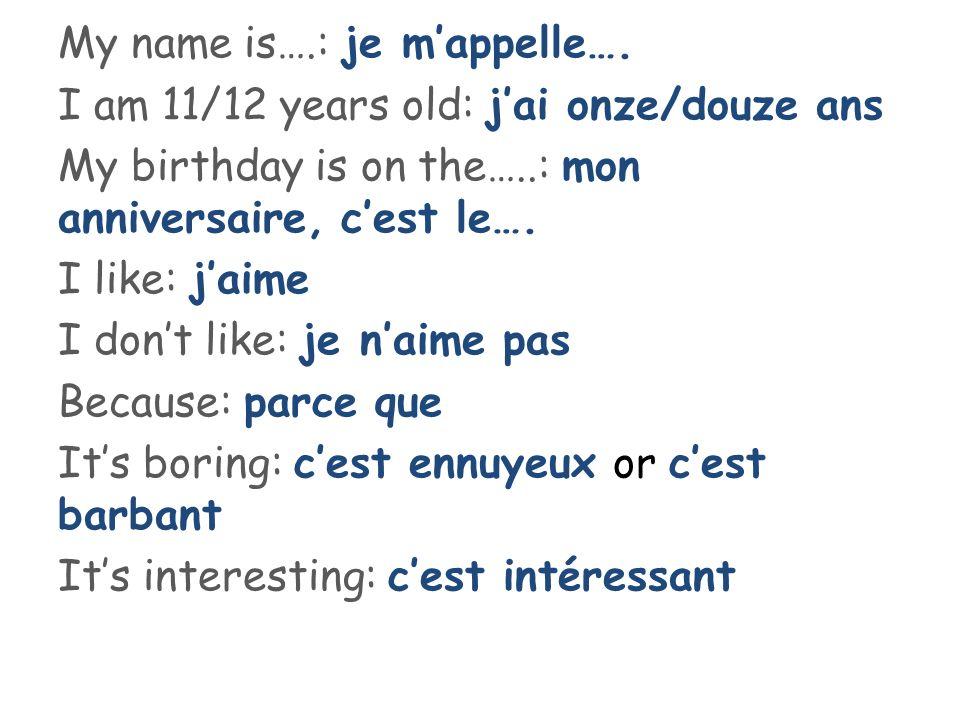 Write my essay french