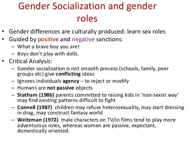 Gender issue essay topics