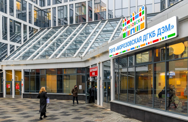 Встолице модернизируют Морозовскую больницу
