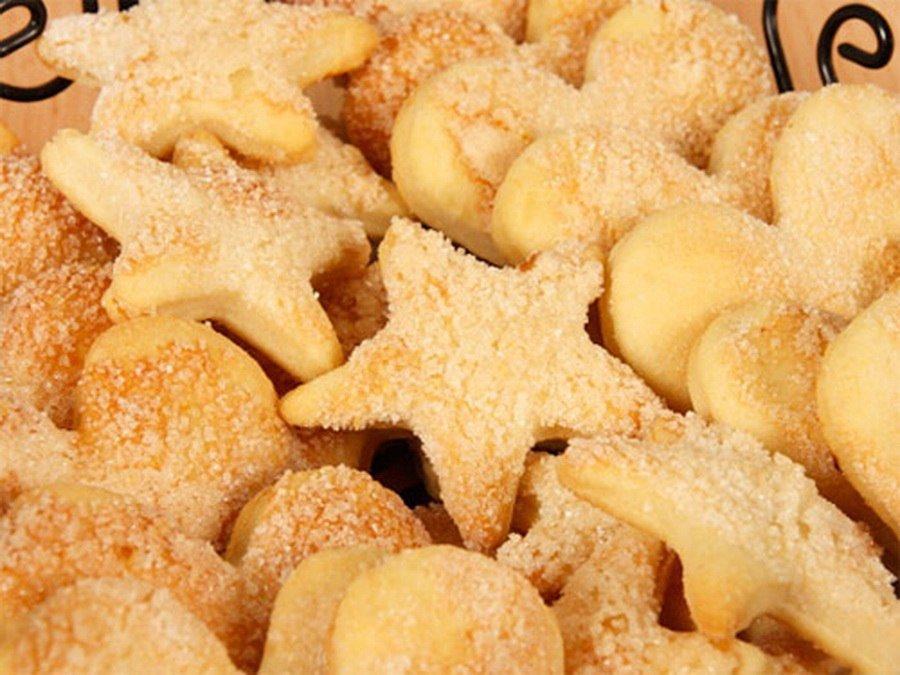 Фото рецепт быстрого песочного печенья