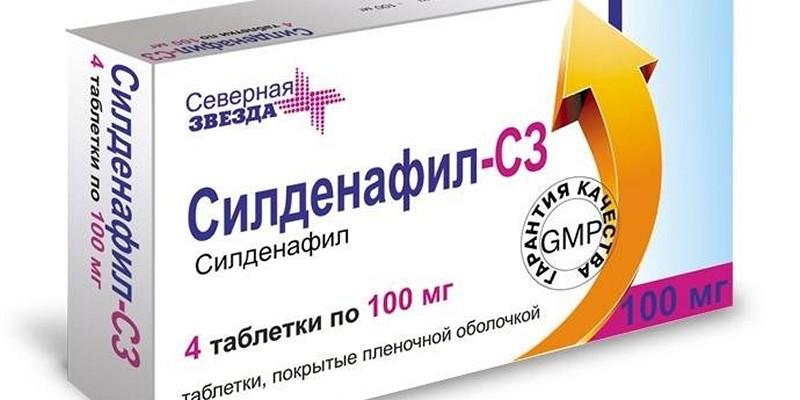 Таблетки для повышения потенции силденафил