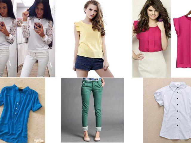 Одежда для девушек на алиэкспресс