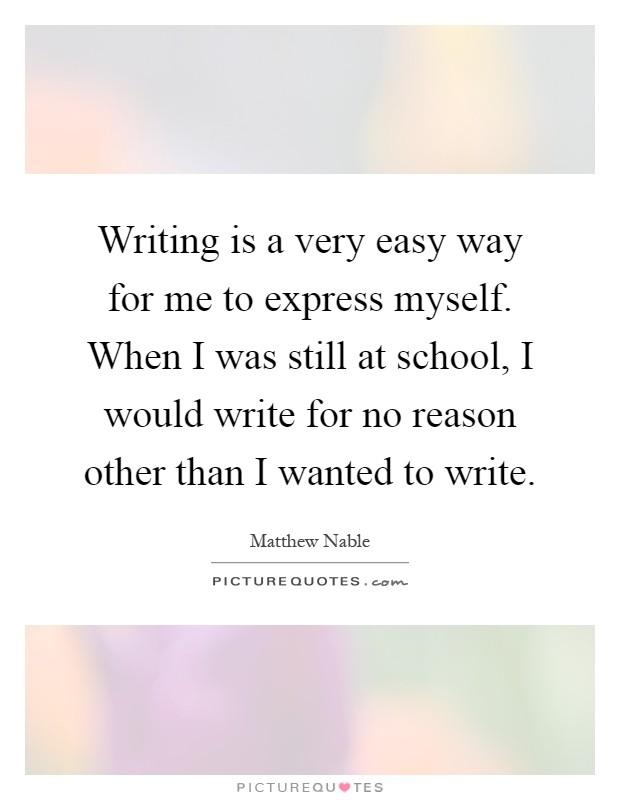 Write my essay made easy