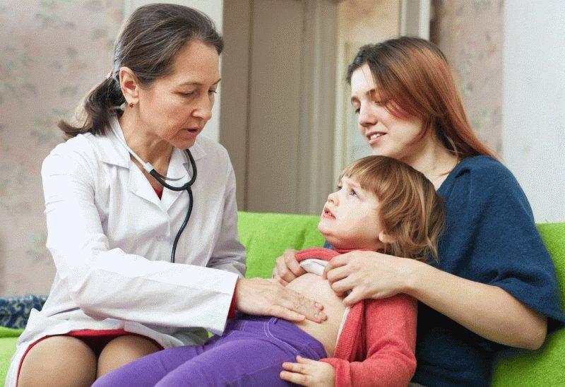 У ребенка болит живот - malutkanet