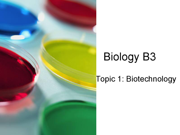 Research papers on biotechnology latest