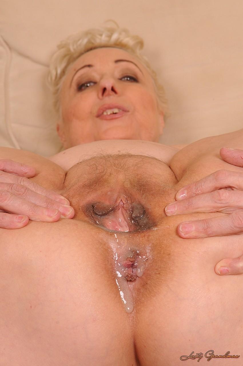 Старые женщины в сперме фото