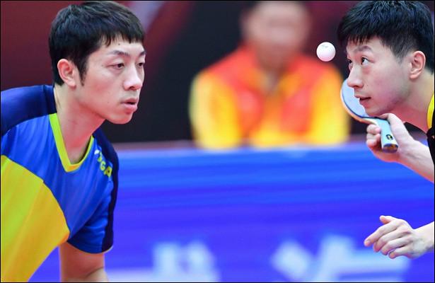 Настольный теннис— Чемпионат Китая 2020: МаЛуниСюйСинь завоевали «золото» вмужском парном разряде