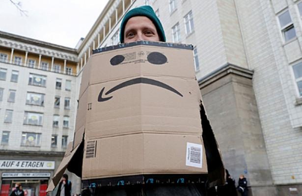 Сотрудники Amazon начали бастовать
