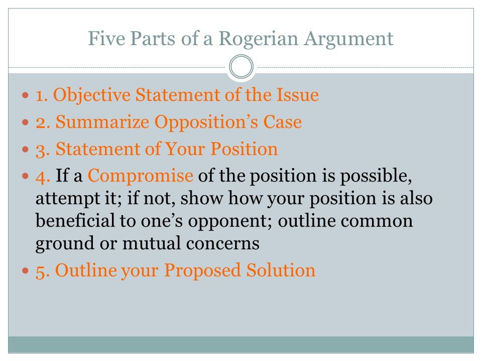 rogerian argument essay examples