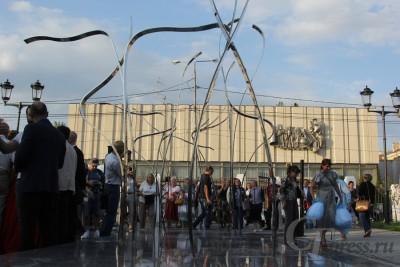 ВСамаре открыли скульптурную композицию, посвященную творчеству хореографа Мариуса Петипа