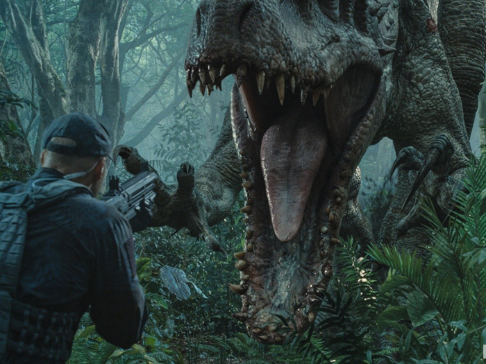 Jurassic World (2015) HDRip Dual Audio 300MB