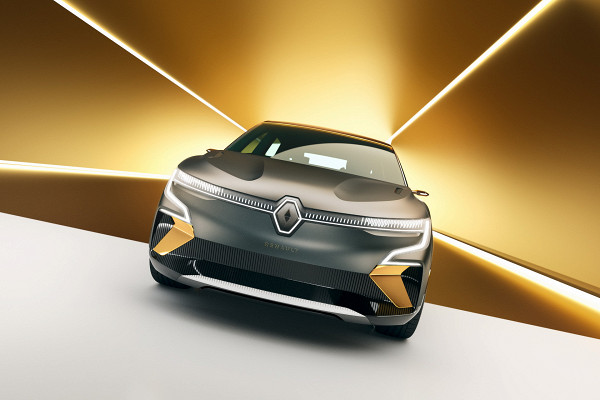 Renault представил концепт электрического хэтчбека Megane 2021 года