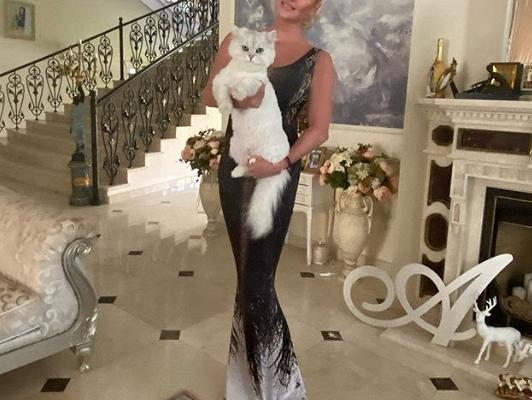 Волочкова показала фото сМайей Плисецкой