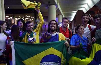 Посол страны: инцидентов сучастием бразильских болельщиков вРостове незафиксировано
