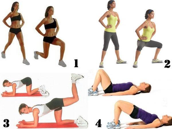 Упражнение для похудения ног и бедер - textreferat