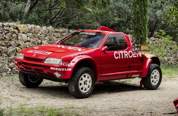 Гоночный Citroen для«Париж-Дакара» выставили напродажу