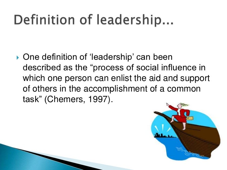 meaning of leadership essay