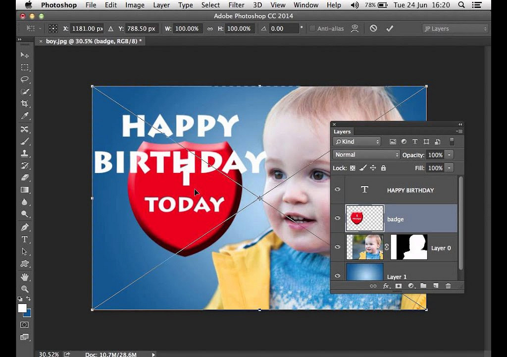 User Guide for Photoshop Software, Free Instruction