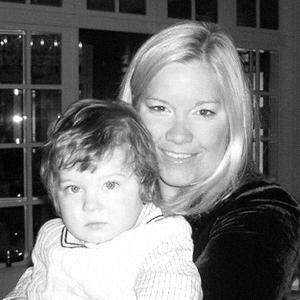 русская мама со своим сыном