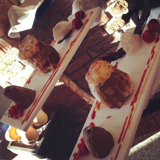 Ресторан Фаэтон - фотография 7 - Запеченная груша