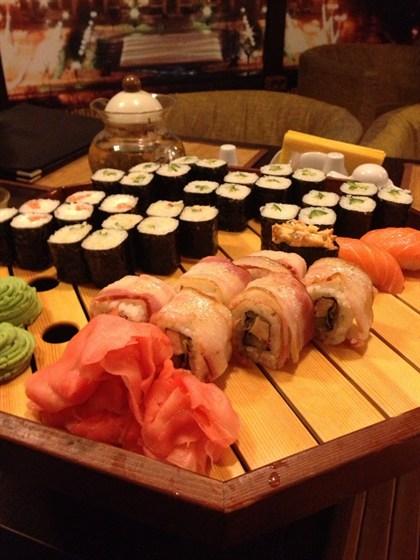 Ресторан Сушишеф - фотография 12 - Замечательная еда! Вкусно и красиво.