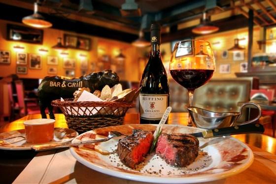 Ресторан Bar & Grill - фотография 1 - Просто сказка)