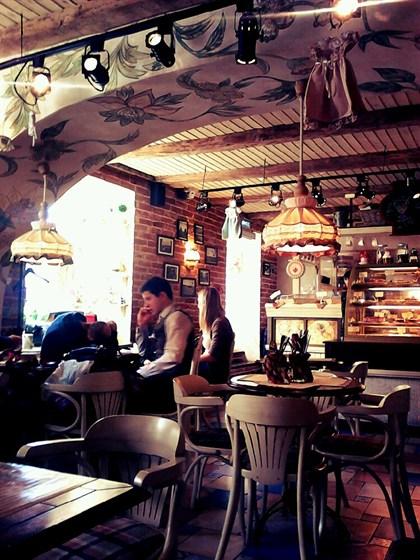 Ресторан Гости - фотография 14 - 1-й этаж Гостей