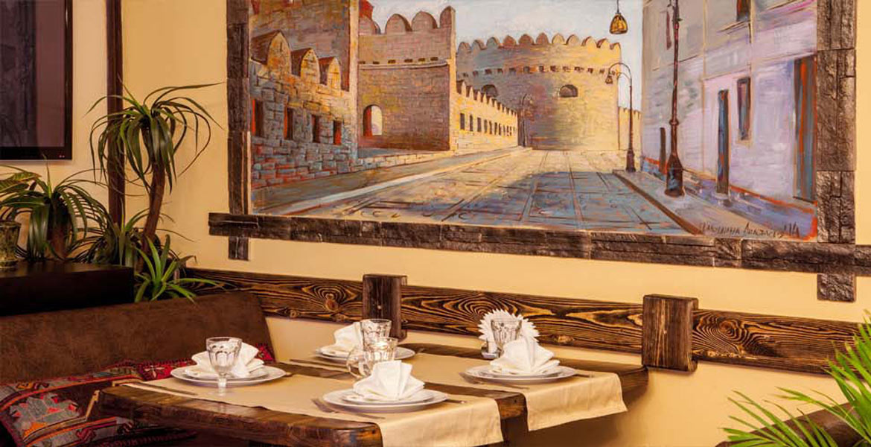 Ресторан Восточный дворик - фотография 2