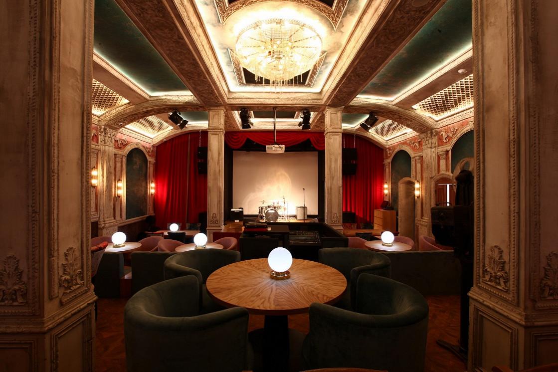 Ресторан Синематограф - фотография 12 - Основной зал