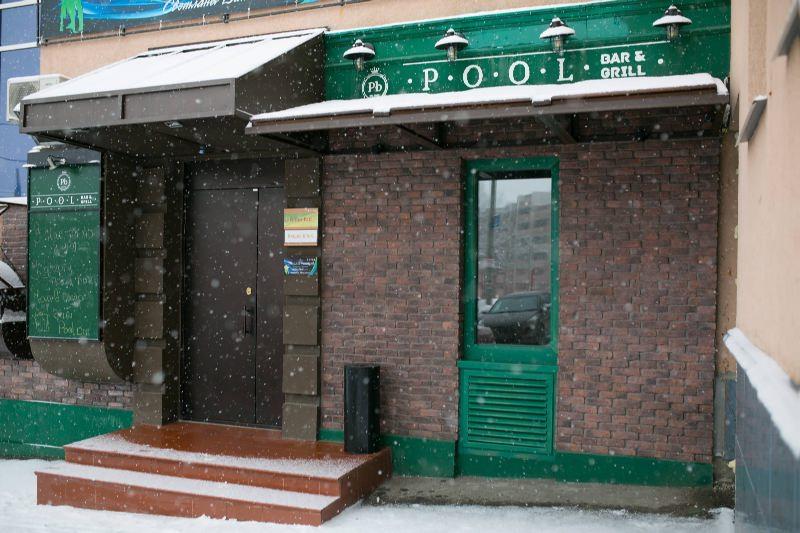 Ресторан Pool Bar & Grill - фотография 15 - Pool Bar зимой