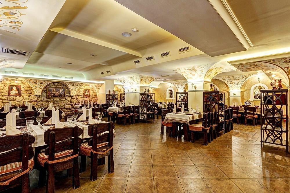 Ресторан Добрыня - фотография 27 - Купеческий зал