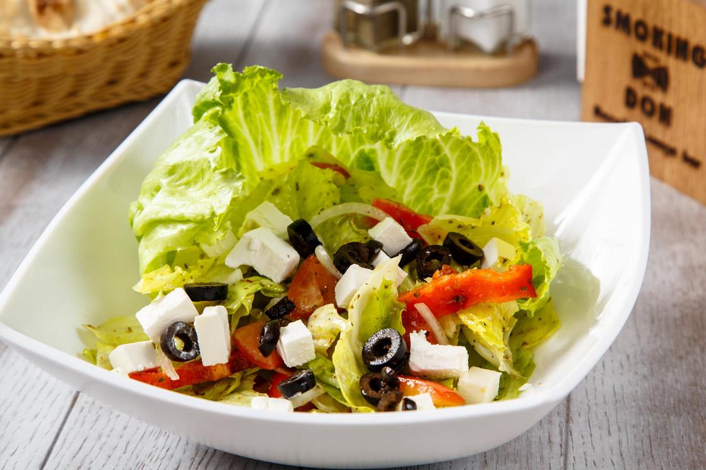 Ресторан Smoking Don - фотография 5 - Греческий салат/Greece salad