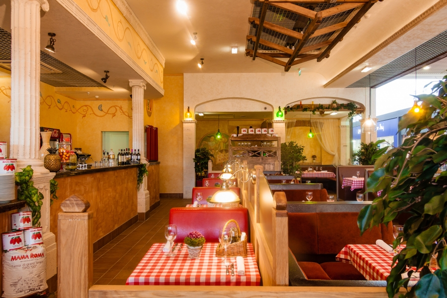 Ресторан Mama Roma - фотография 7