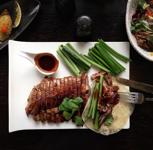 Ресторан Якитория и Mojo - фотография 4 - Утка по-пекински
