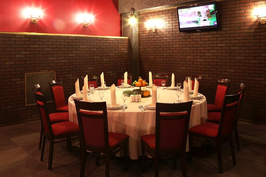 Ресторан Музпаб - фотография 5 - VIP зал