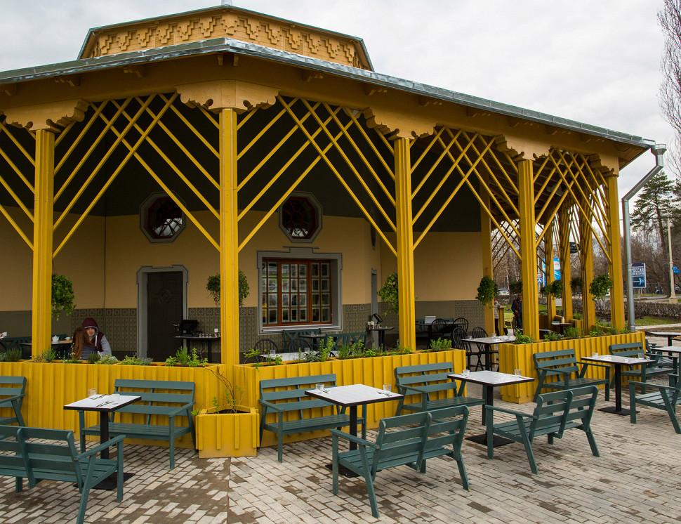 Ресторан Свадьба соек - фотография 5 - Летняя веранда