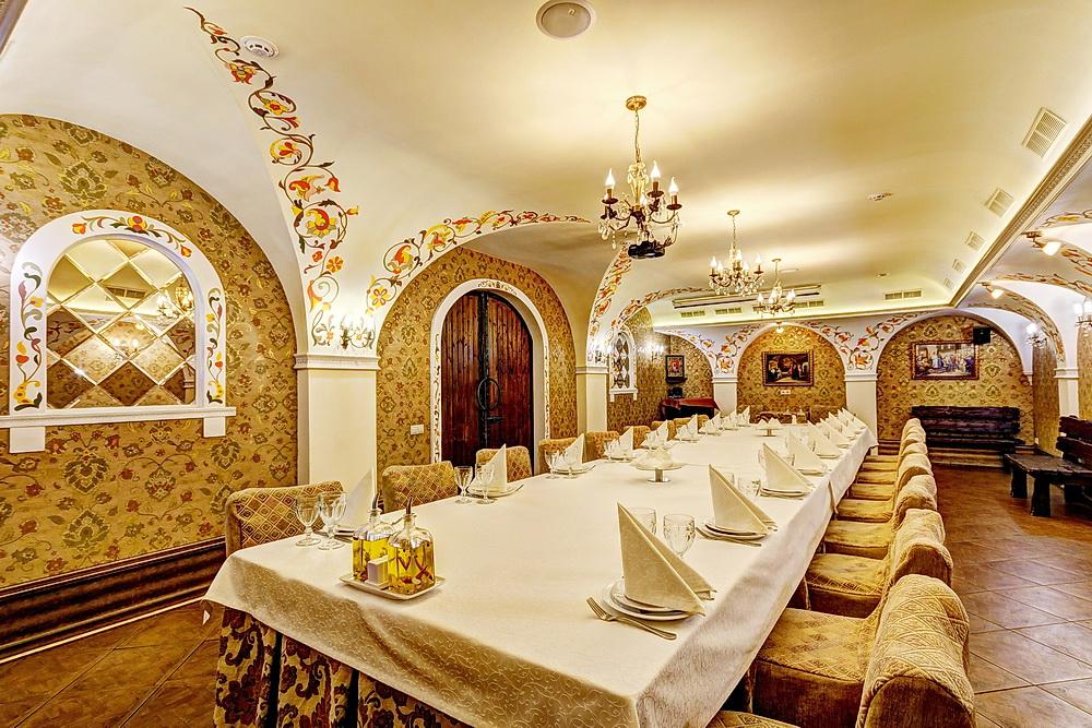 Ресторан Добрыня - фотография 32 - Боярский зал.