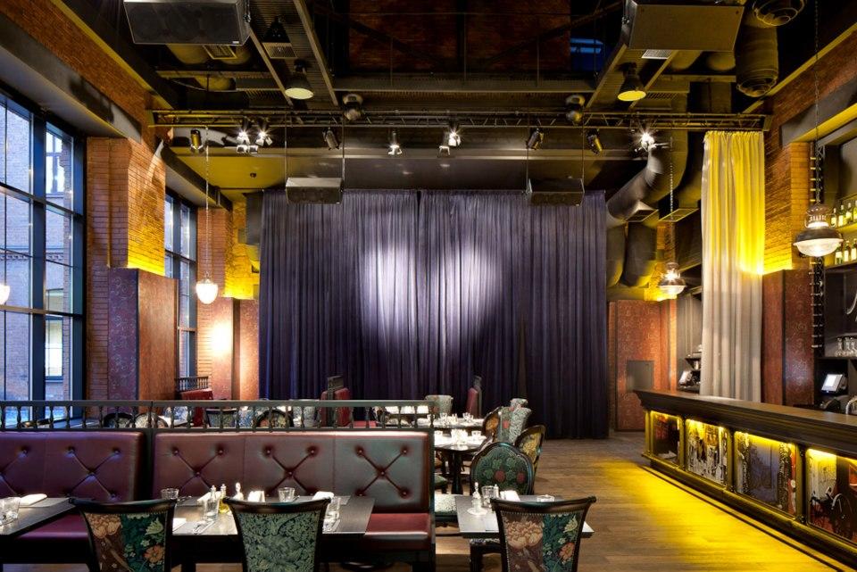 Ресторан Mary Jane - фотография 7 - Основной зал