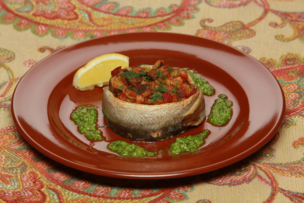Ресторан Добрыня - фотография 17 - Ряпушка с овощами.