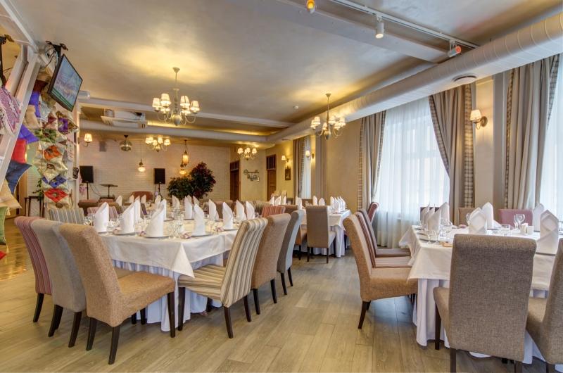 Ресторан Дюшес - фотография 4 - Банкетный зал