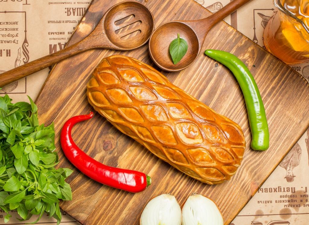 Ресторан Главпирог - фотография 10 - Пирог с говядиной